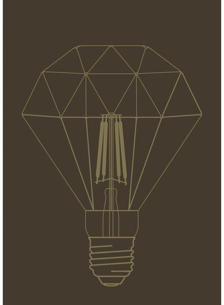 LED lamp 4W - 290 lm - diamant - helder - 20020056 - HEMA
