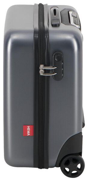 fietskoffer - 40x45x30 - recycled PET - grijs - 18630200 - HEMA