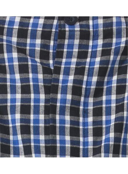 herenpyjama blauw blauw - 1000008725 - HEMA