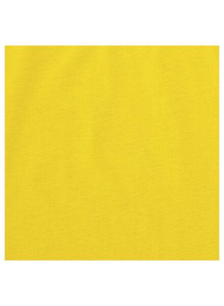 kinder t-shirt geel geel - 1000014487 - HEMA