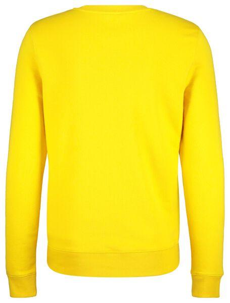 herensweater geel geel - 1000017629 - HEMA