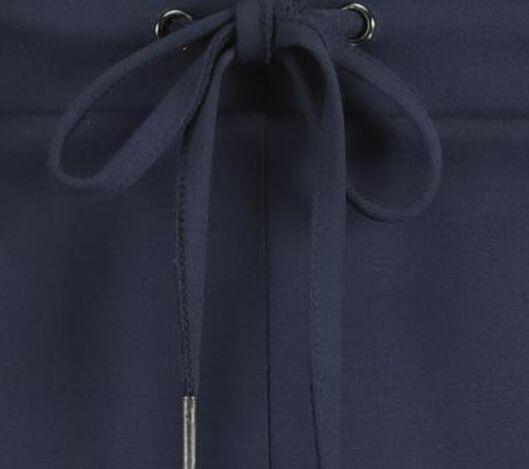 damesbroek donkerblauw donkerblauw - 1000021003 - HEMA