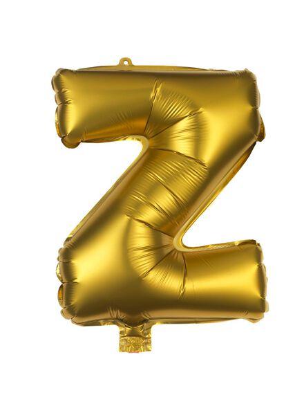 folieballon Z - goud - 60800499 - HEMA