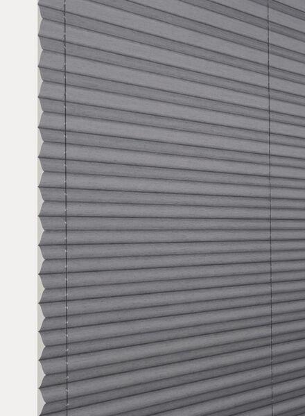 plisségordijn uni transparant 20 mm - 7430077 - HEMA