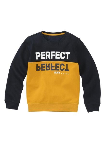 kindersweater donkerblauw donkerblauw - 1000008579 - HEMA