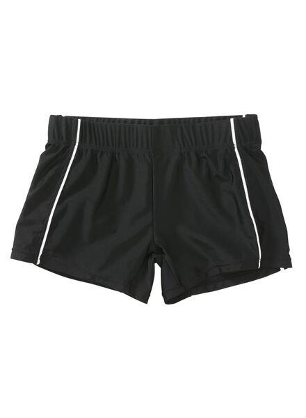 heren zwembroek zwart zwart - 1000002611 - HEMA