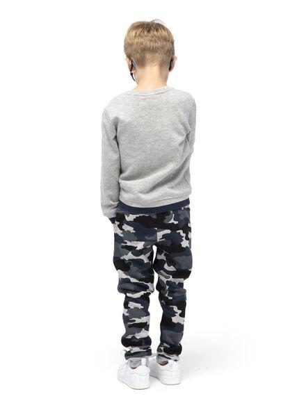 kinder sweatbroek blauw blauw - 1000014902 - HEMA