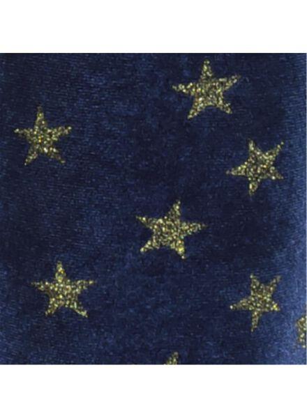 kinderbroek bootcut blauw blauw - 1000016838 - HEMA