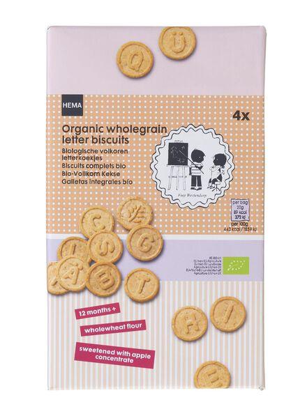 biologische volkoren letterkoekjes - 10240050 - HEMA