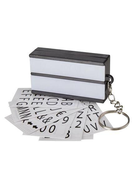 lichtbox sleutelhanger - 60300472 - HEMA