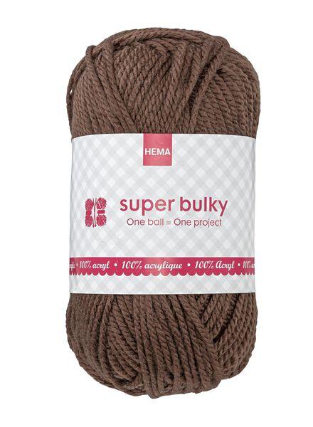 breigaren super bulky - 1400073 - HEMA
