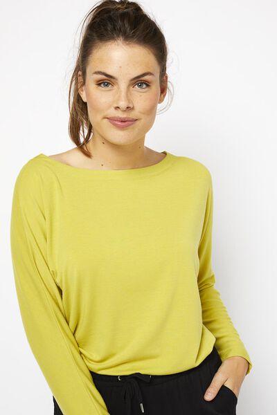 dames t-shirt lime lime - 1000021459 - HEMA