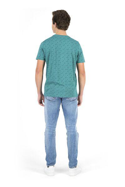 heren t-shirt groen groen - 1000018200 - HEMA