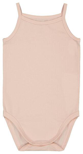 romper organic katoen stretch roze roze - 1000022880 - HEMA