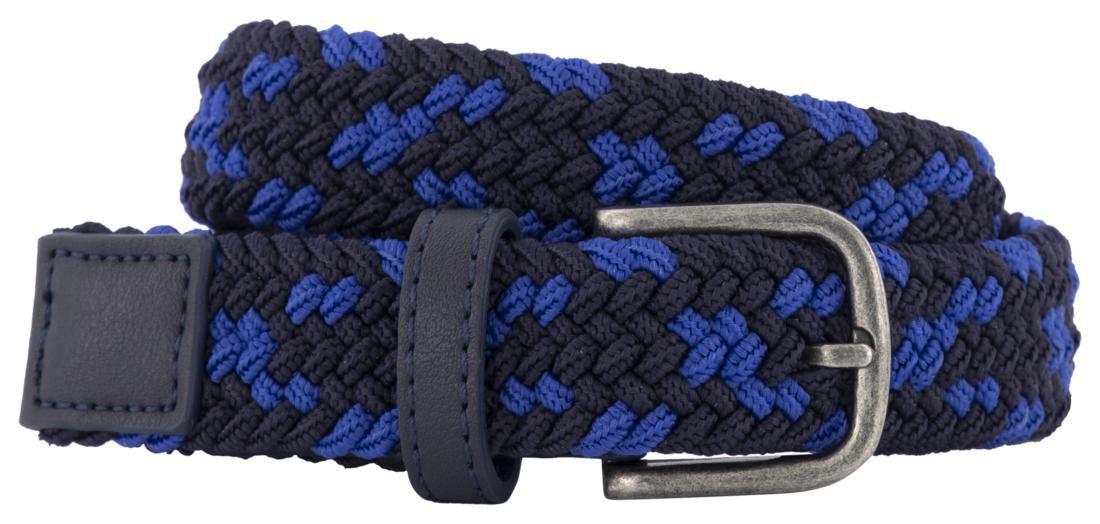 HEMA Kinderriem Gevlochten 2.5cm Blauw (blauw)