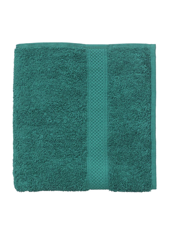 HEMA Baddoek Zware Kwaliteit 110 X 60 - Donkergroen (vert foncé)