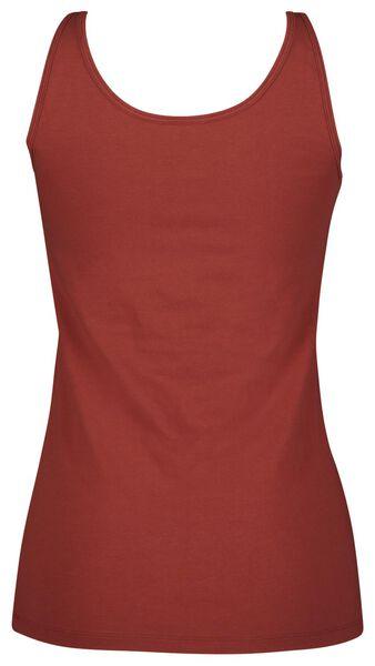 dames singlet rood L - 19614064 - HEMA