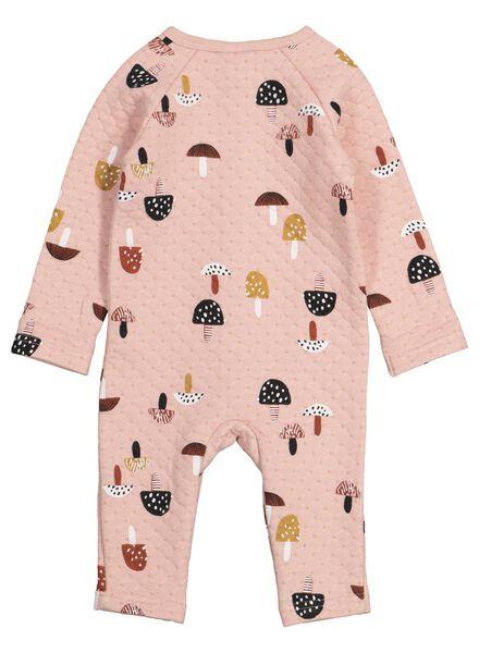 newborn jumpsuit roze roze - 1000015612 - HEMA