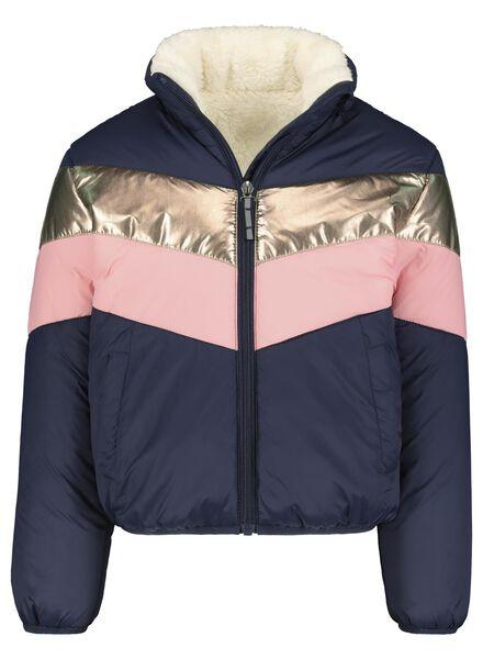kinderjas donkerblauw donkerblauw - 1000013610 - HEMA