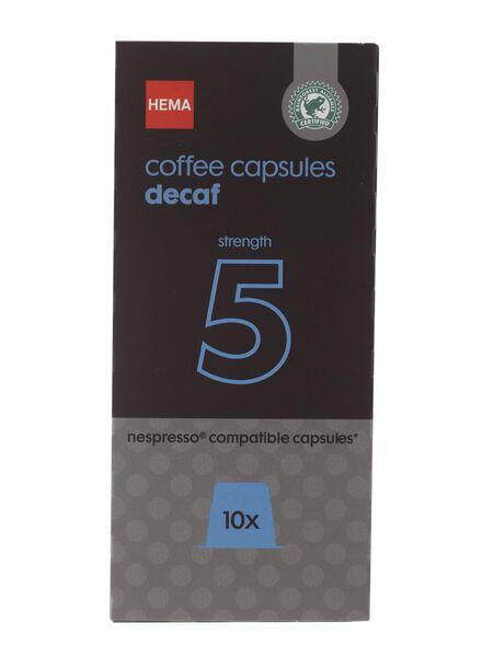 koffiecups decaf - 10 stuks - 17130005 - HEMA