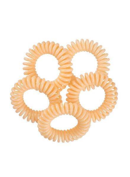 5-pak spiraal elastiekjes - 11870024 - HEMA
