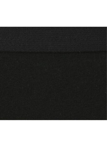 3-pak damesboxers zwart zwart - 1000008975 - HEMA