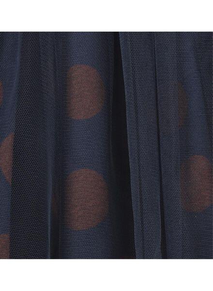 kinderrok donkerblauw donkerblauw - 1000016740 - HEMA
