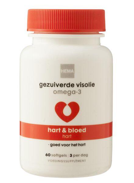 gezuiverde visolie omega-3 - 11401545 - HEMA