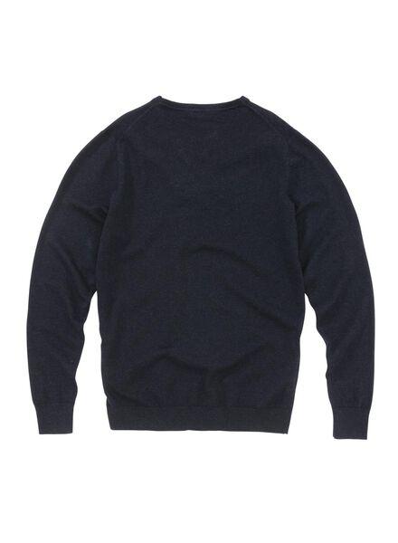 heren sweater donkerblauw donkerblauw - 1000005829 - HEMA