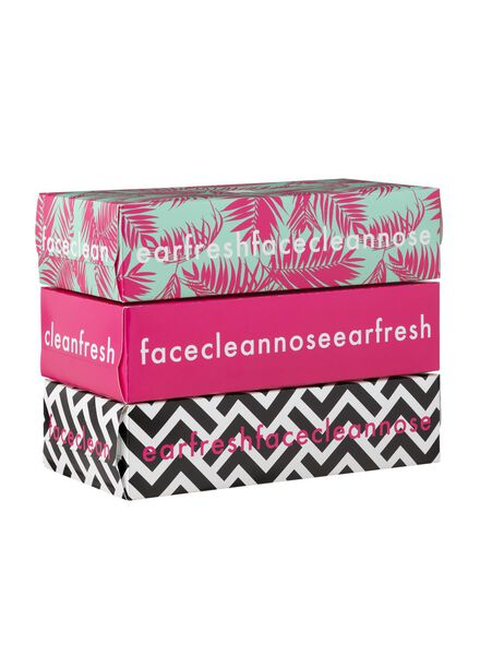 3-pak tissues limited edition - 11510055 - HEMA