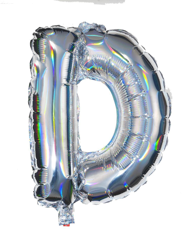 HEMA Folieballon D -zilver (multi)