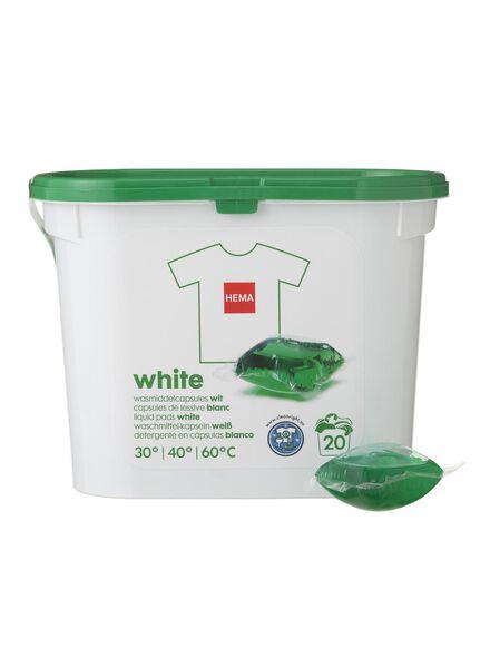 20-pak wasmiddelcapsules wit - 20500029 - HEMA