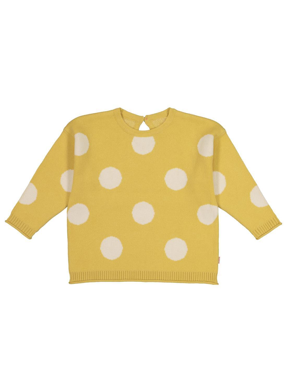 HEMA Babytrui Gebreid Met Stippen Geel (geel)