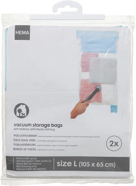 2-pak vacuumzakken large - 39807218 - HEMA