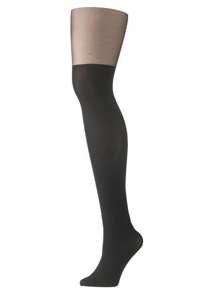 panty zwart zwart - 1000006849 - HEMA