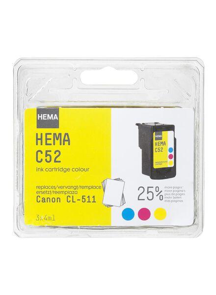C52 vervangt Canon CL-511 - 38399201 - HEMA