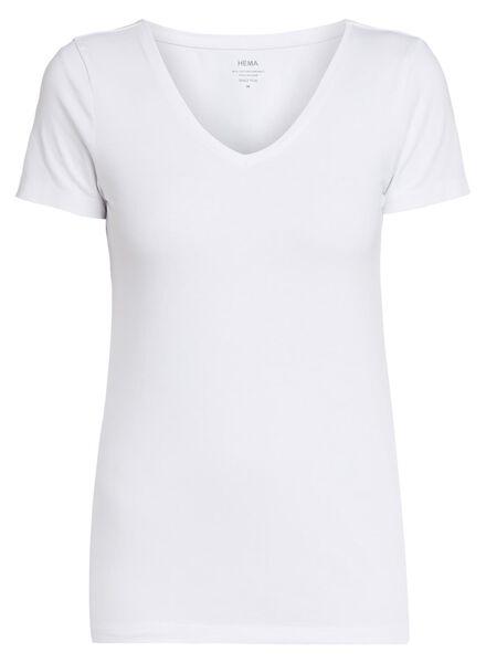 dames t-shirt wit XL - 36301764 - HEMA