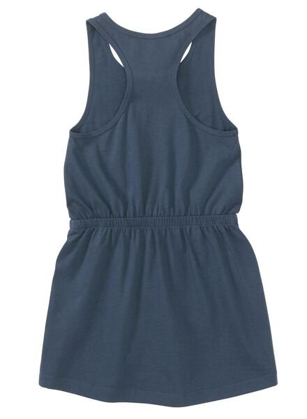 kinderjurk donkerblauw donkerblauw - 1000013059 - HEMA