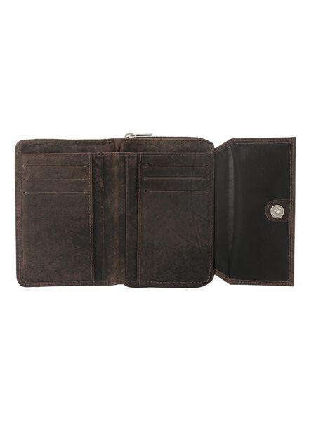 leren portemonnee - 18160023 - HEMA
