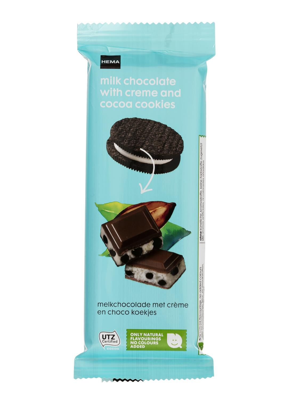 HEMA Melkchocolade Met Crème En Choco Koekjes