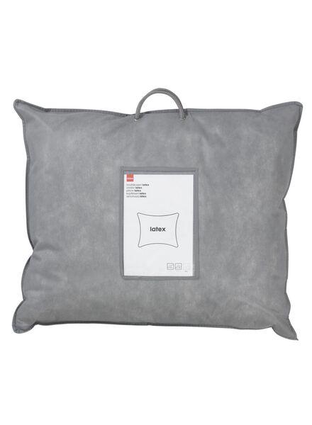 hoofdkussen - latex - medium stevig - rug- en zijslaper - 5500047 - HEMA