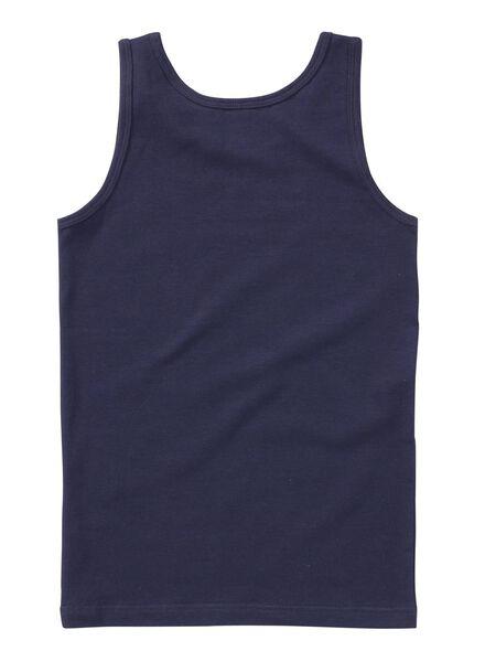 2-pak jongenshemd donkerblauw donkerblauw - 1000001433 - HEMA
