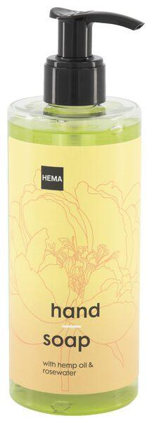 handzeep met hennepolie en rozenwater 300 ml - 11330102 - HEMA