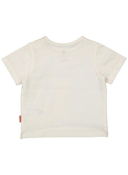 newborn t-shirt gebroken wit gebroken wit - 1000013905 - HEMA