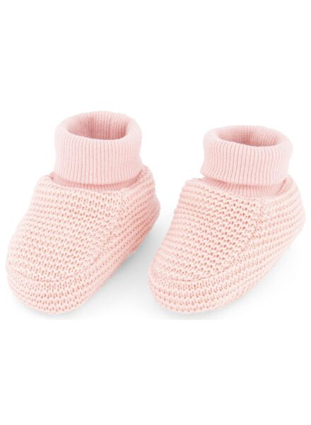newborn sloffen roze roze - 1000015097 - HEMA