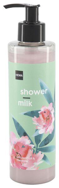 douchemelk met hennepolie en rozenwater 300 ml - 11330103 - HEMA