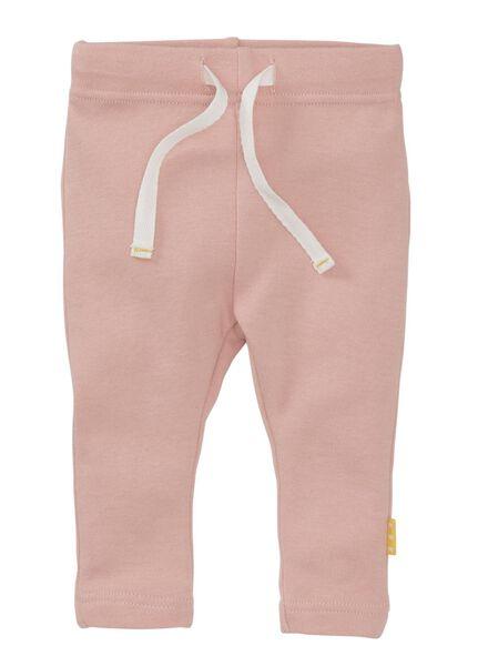 2-pak newborn broekjes zwart/wit zwart/wit - 1000010029 - HEMA