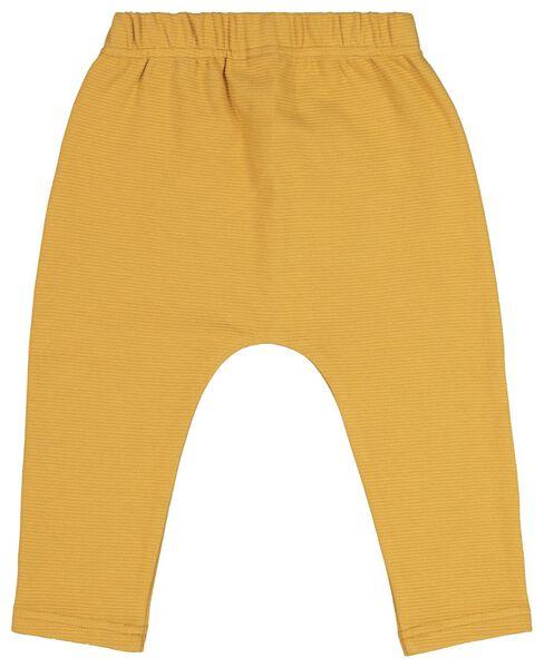 baby sweatbroek geel geel - 1000020210 - HEMA