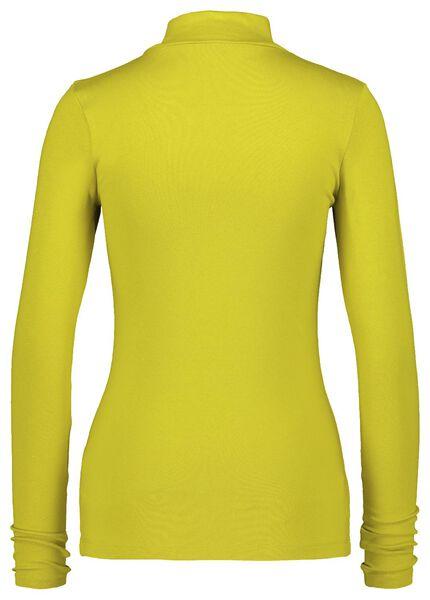 dames t-shirt col - 36369825 - HEMA