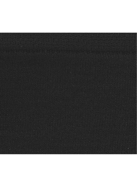 damesslip naadloos zwart zwart - 1000009281 - HEMA